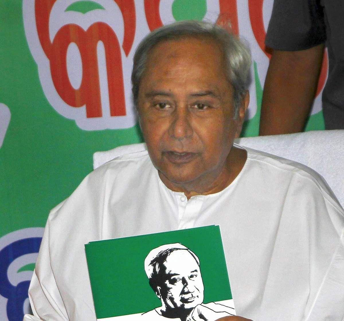 Afraid of defeat in 2nd phase too, BJP breaks EVM Naveen
