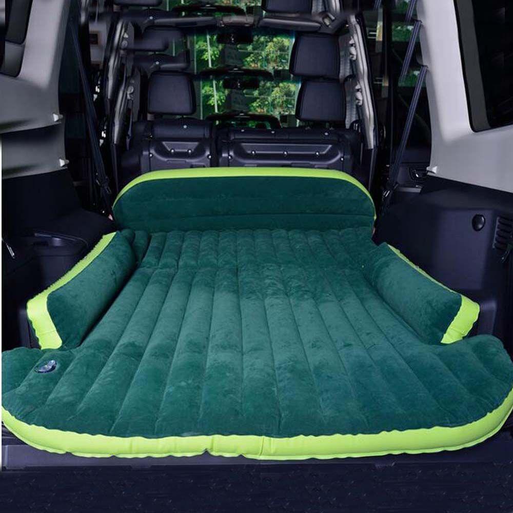 SUV Aufblasbare Matratze Mit Luftpumpe Reise Camping Feuchtigkeitsdichten  Pad Auto Rücksitz 3d Schlafenrest Matratze Auto