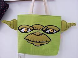 Handmade Star Wars Master Yoda Tote Bag #tvlovers #movielovers #celebrity #celebrities #celebritynews #comics #fandom #forsale #homedecor #roomdecor #residentialproperties #entertainmentnews $29.95 http://www.rbitencourtusa.com/#!product/prd1/2683320641/handmade-star-wars-master-yoda-tote-bag