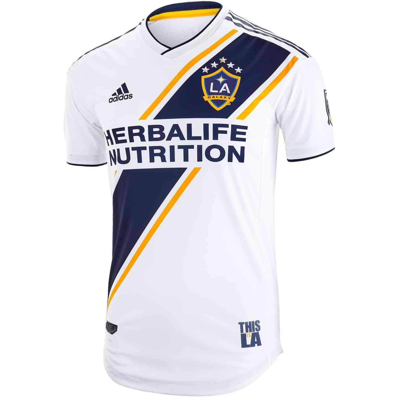 2019 Adidas La Galaxy Home Authentic Jersey Soccerpro Sports Uniform Design La Galaxy Adidas Los Angeles