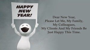 Happy New Year Quotes Poster