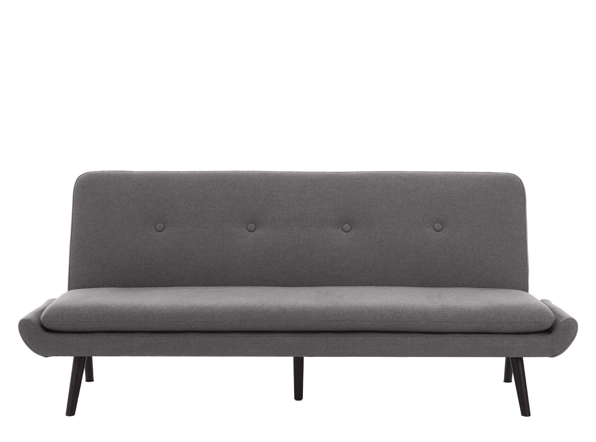 Edwin Click Clack Sofa Bed, Marl Grey (avec images