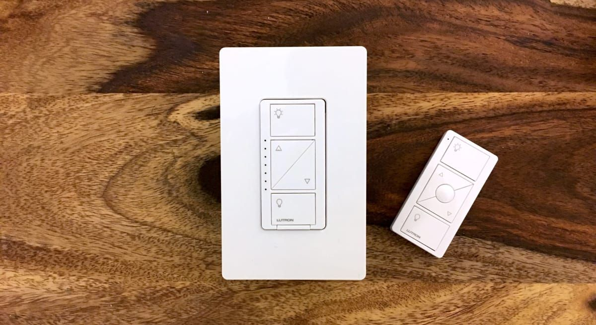 Lutron Caséta Smart Lighting Dimmer Switch Starter Kit