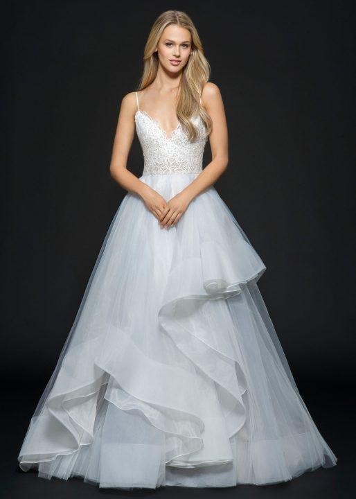 bijou gown hayley paige | wedding goals | Pinterest | Hayley paige ...