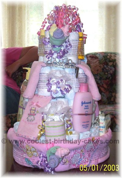 Lots Of Diaper Cake Ideas