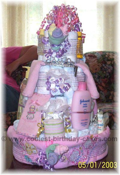Lots Of Diaper Cake Ideas