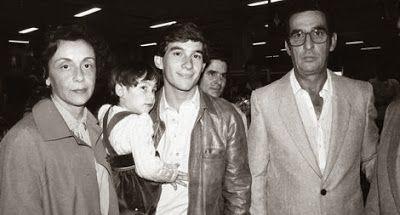 """Ayrton Senna: Alfredo Popesco: """"Enquanto o Pai Milton Era Rigoroso, a Mãe do Ayrton Era A Mãe Ideal"""""""