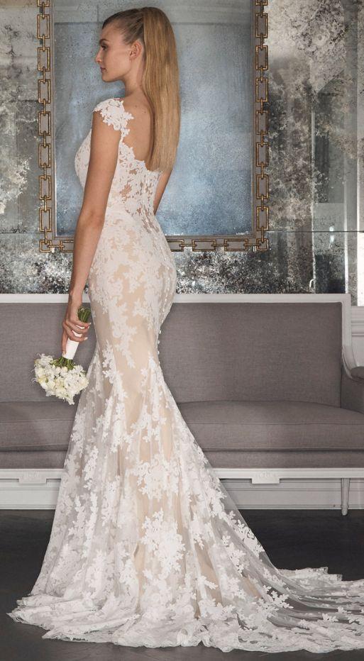 Featured Dress: Romona Keveza; Wedding dress idea.
