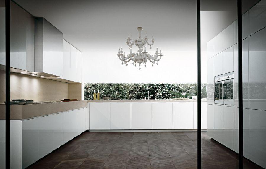 BANNI - Matrix Laca Blanca Alto Brillo Kuchen Pinterest - next line küchen