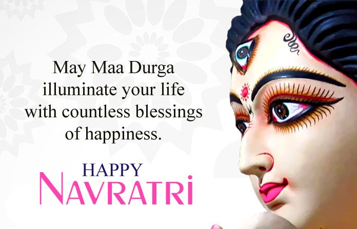 Short One Line Happy Navratri Status In English With Images