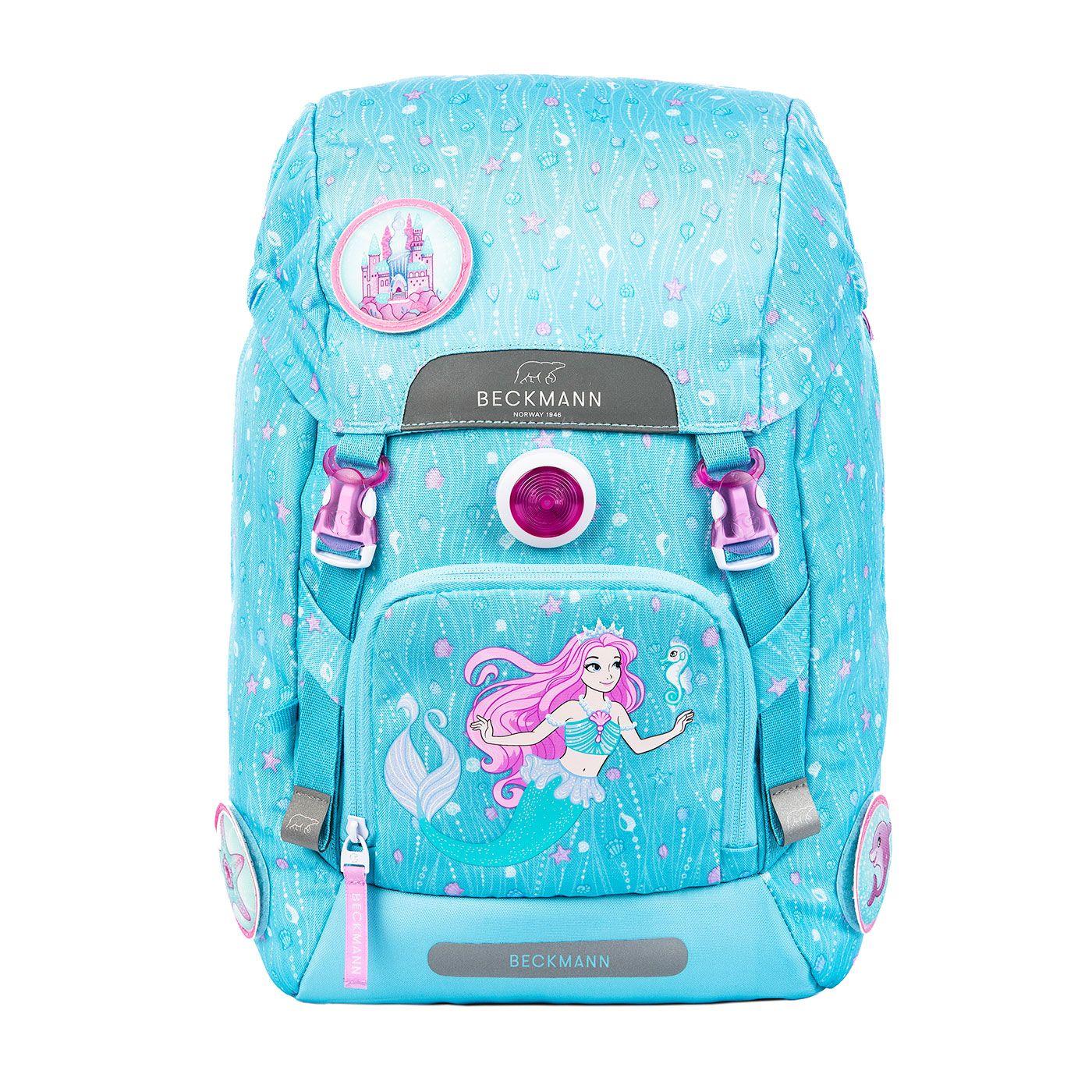 Classic 22 litre, Mermaid 1st grade backpack Beckmann
