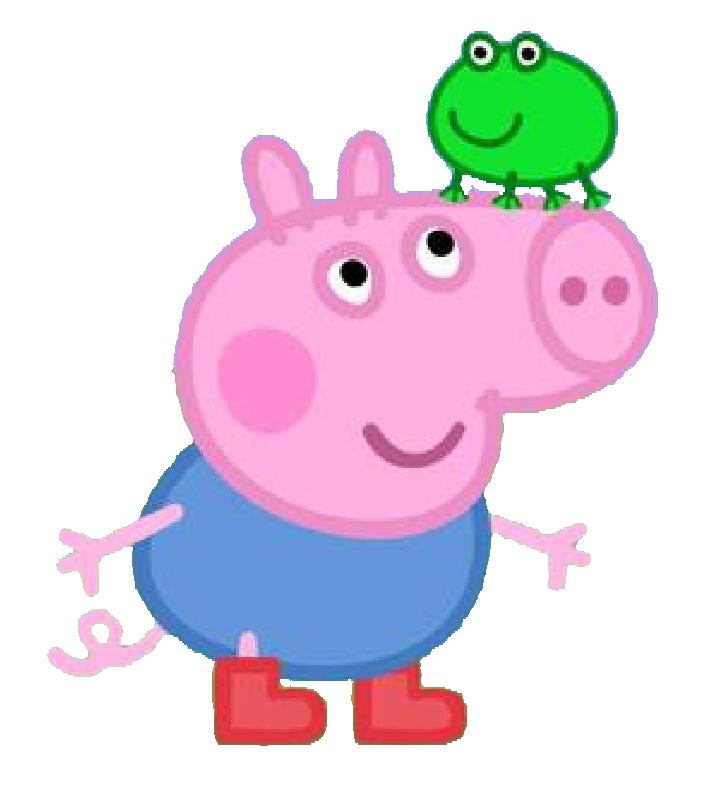 Imagens Peppa Pig. Mamãe Pig, Papai Pig e George em PNG - Convites Digitais