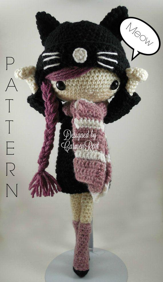 Little amigurumi doll crochet Naya: free pattern - Katkarmela о вязании | 983x570
