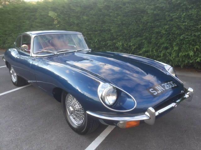 1969 EType Jaguar 42 S2 FHC  Classic Car Shop  Pinterest