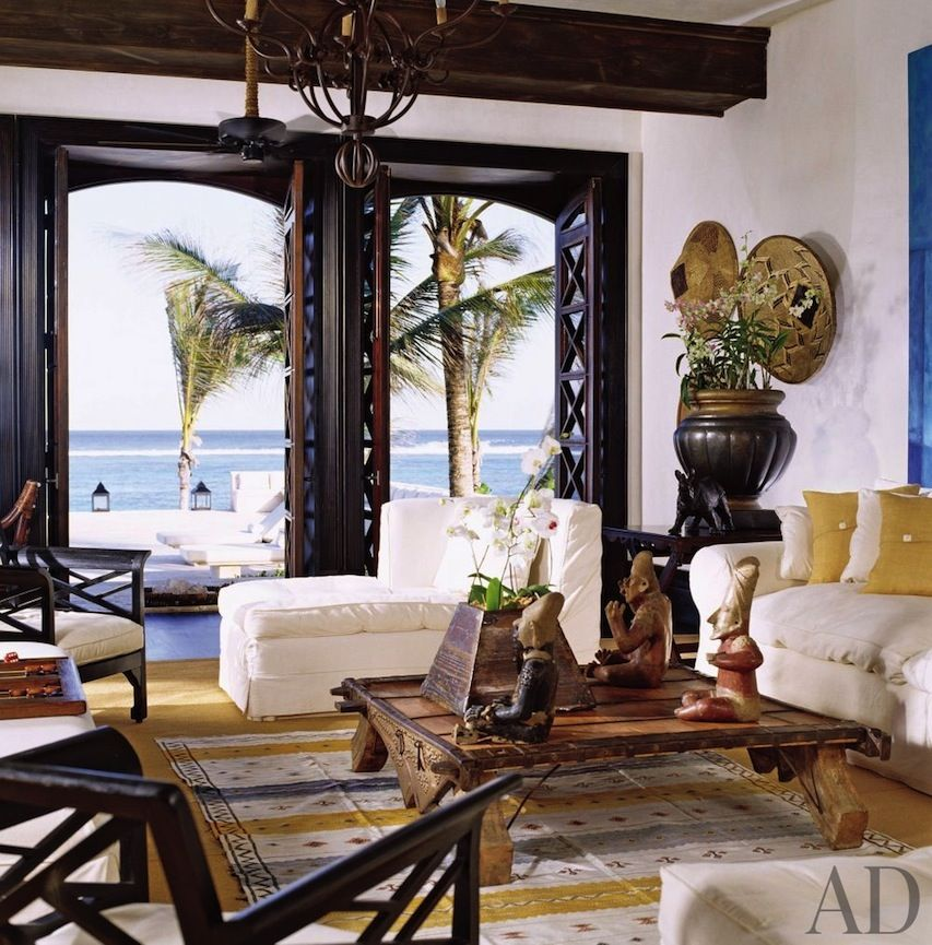 Space: An Exotic Living Room In Punta Cana