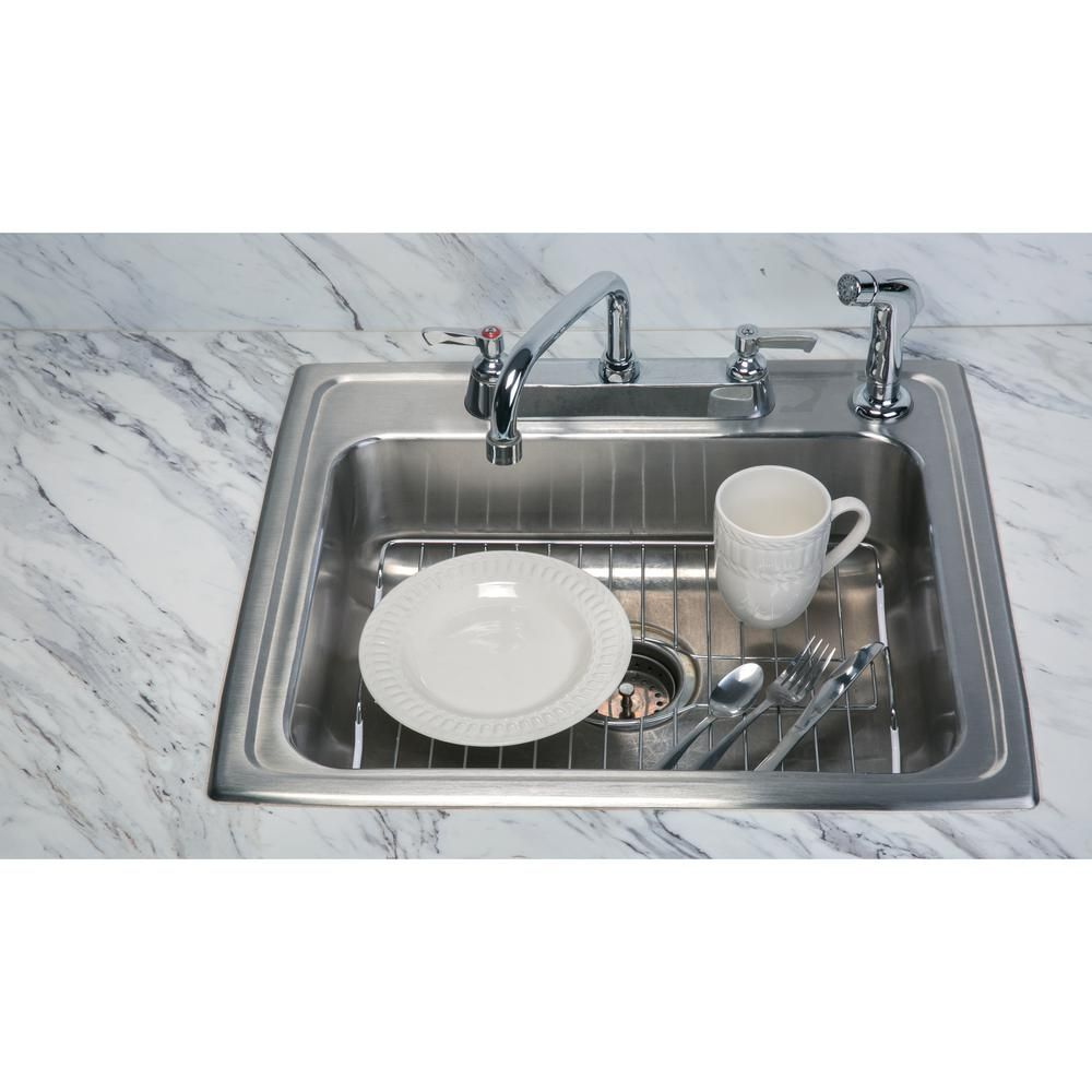 Kitchen Details Large Chrome Sink Protector 4865 Products In