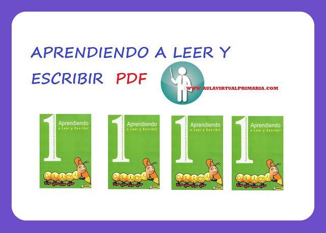 Aprendiendo a Leer y Escribir - PDF | AULA VIRTUAL PRIMARIA ...