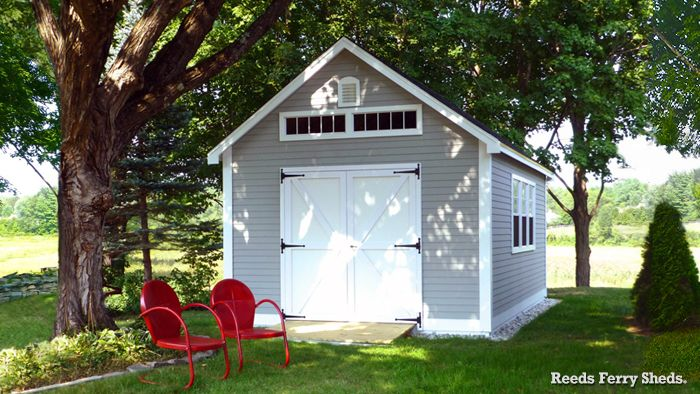 34 Reeds Ferry 12x20 Victorian Cottage With Vinyl Siding And Pvc Trim Shed Shed Sizes Victorian Cottage