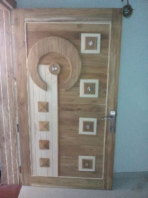 Teak Wood Modern Designer Doors In 2020 Wooden Main Door Design Door Design Wooden Front Door Design