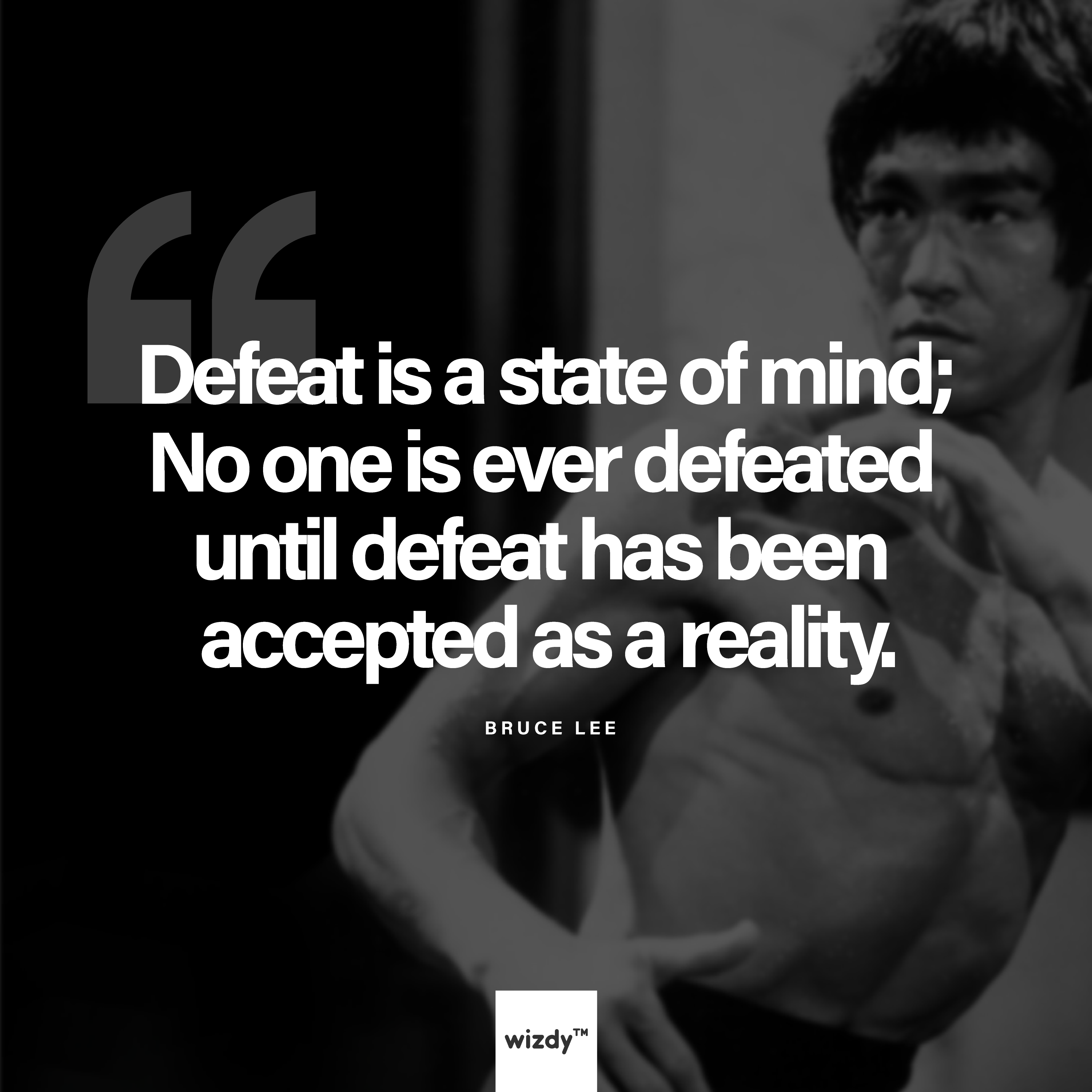 A motivational quote from the venerable bruce lee inspiration for those who need it