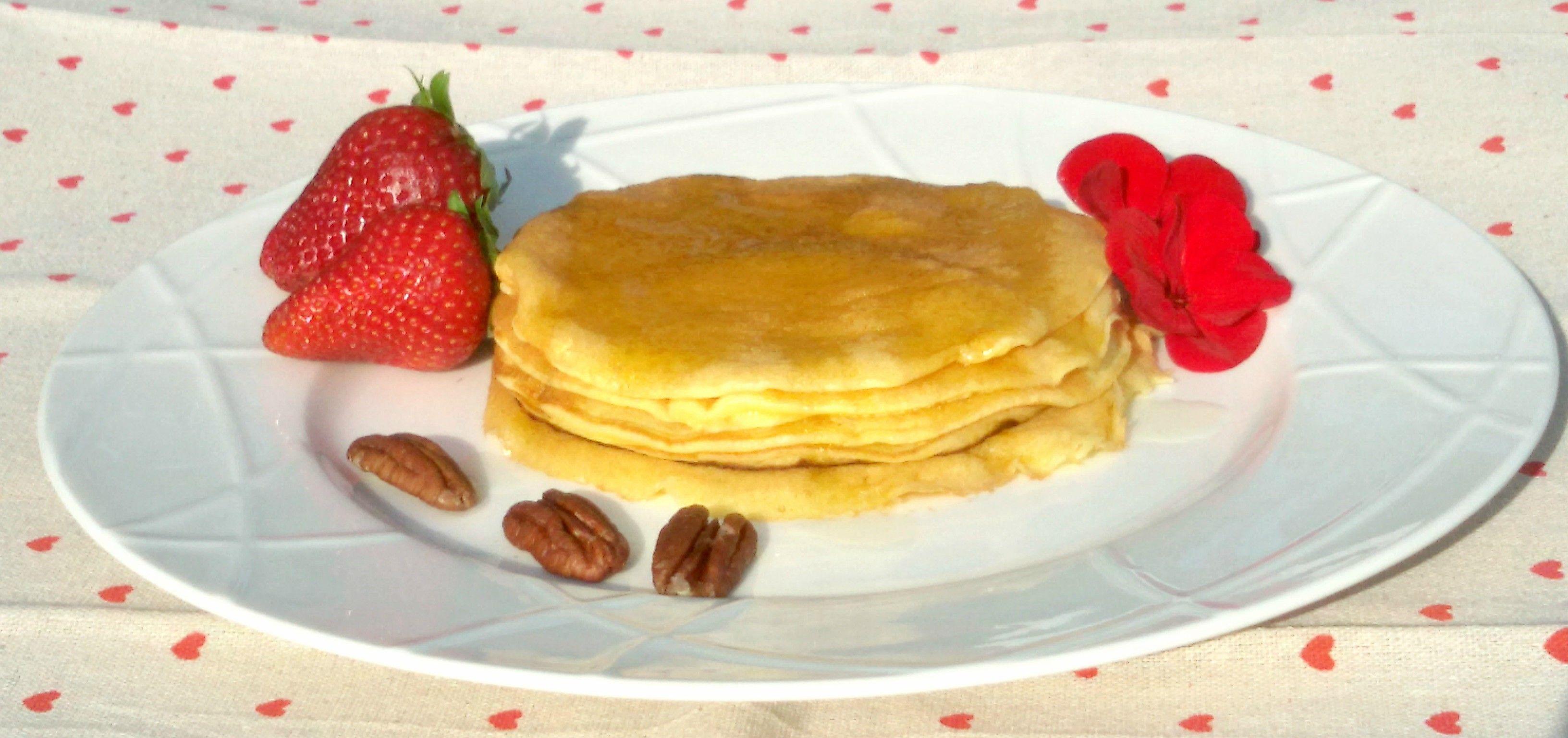 i pancake senza glutine sono ottimi ain qualsiasi ora della giornata , piacciono anche ai bimbi e si mangiano con tutto ciò che vogliamo !