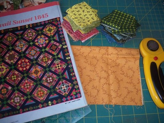 Image result for hawaiian sunset quilt