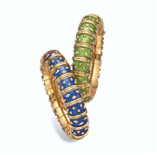 Ellen Barkin jewels   18k gold bracelet, Jewelry auctions ...