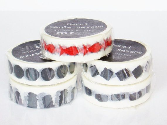 mt Washi Masking Tape - Dots - Limited Edition - Paola Navone