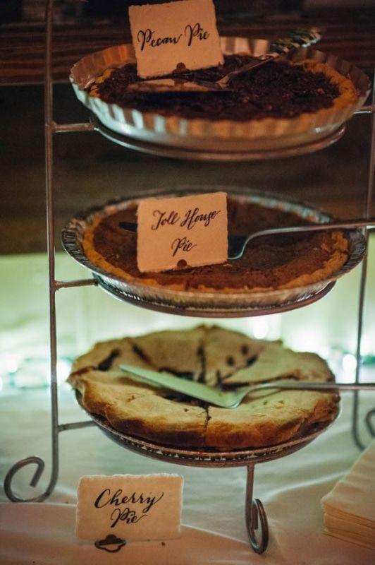 pie dessert station