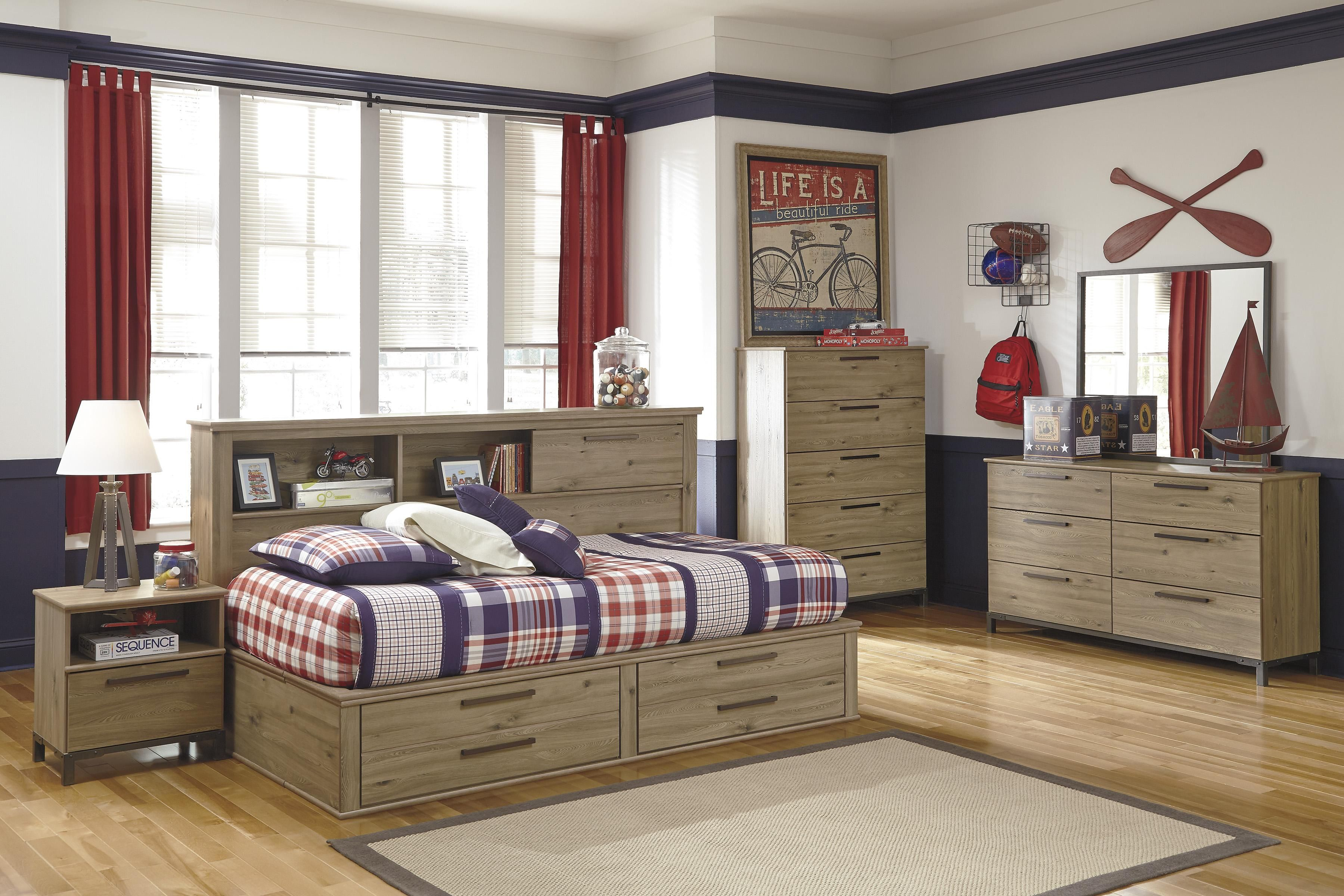 Ashley Furniture S Dexifield Youth Bedroom Series B298 Speedy Furniture Of Robinson Youth Bedroom Bed Frame With Drawers Bed Frame And Headboard