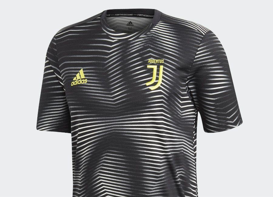 6dc93eb6ea8 juve  juventus Adidas Juventus Home Pre-Match Jersey - Black   White ...