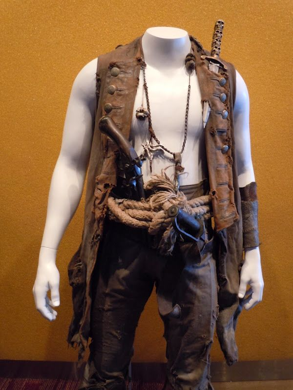 Zombie Quarter Master from Pirates of the Caribbean