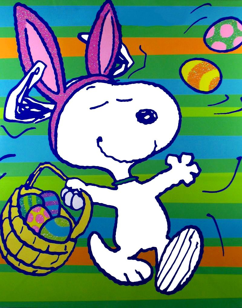 The Easter Beagle Snoopy Easter Easter Beagle