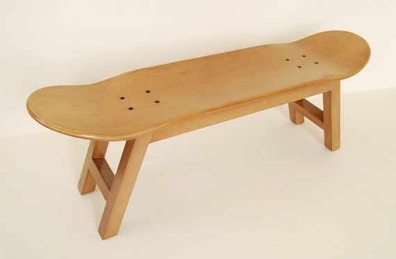 Skateboard furniture stool bookend coat rack and mug by skatehome
