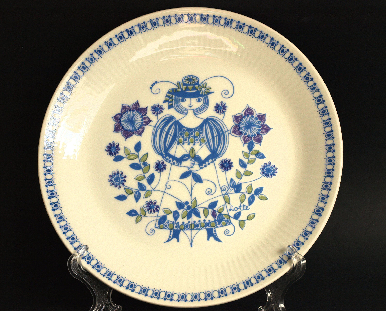 Reserved for R***Figgjo Flint Lotte Turi Danish Dinner Plates ...