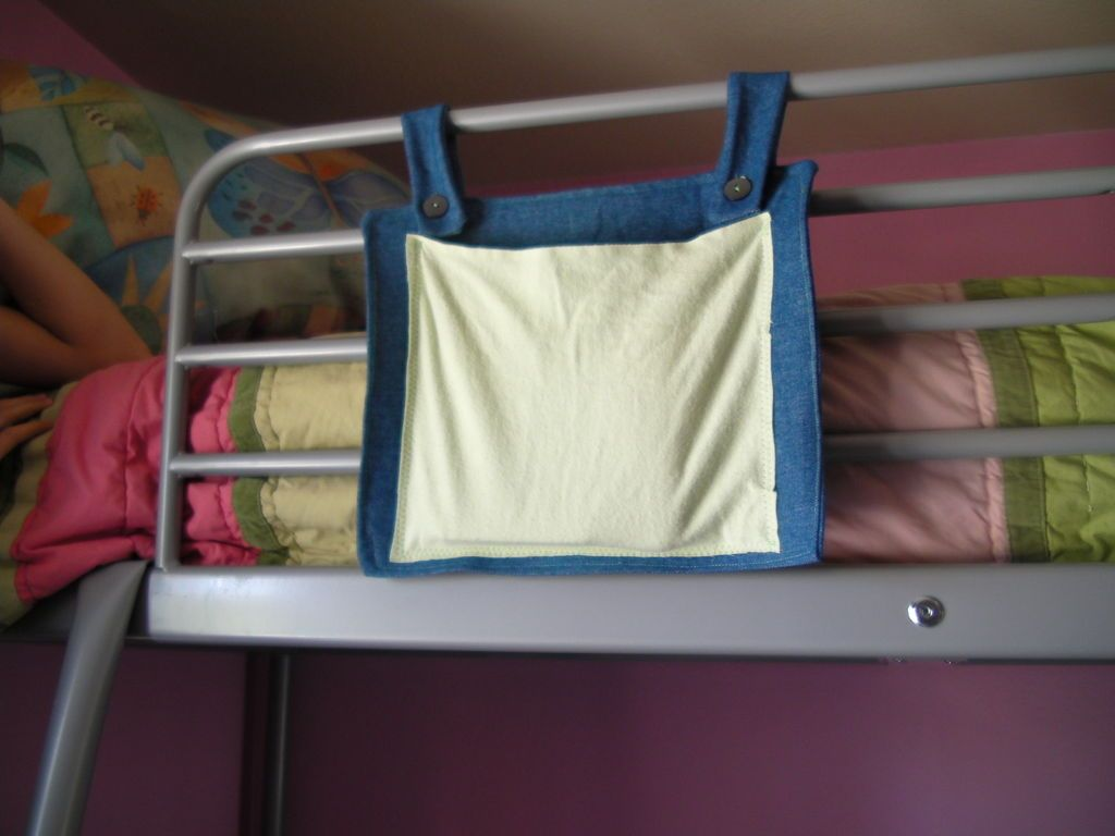Loft bed organization ideas  Loft or Bunkbed Organizer  Bed storage Bunk bed and Storage