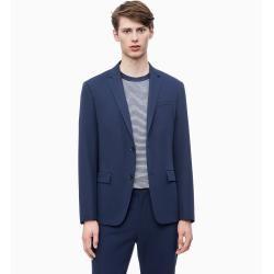 Outlet - Calvin Klein Taillierter Blazer aus Techno-Gabardine 48 - Extra Sale Calvin Klein