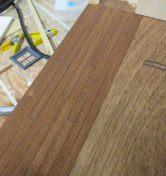 No Mess Hardwood Floors Made From Wood Veneer Dollhouse