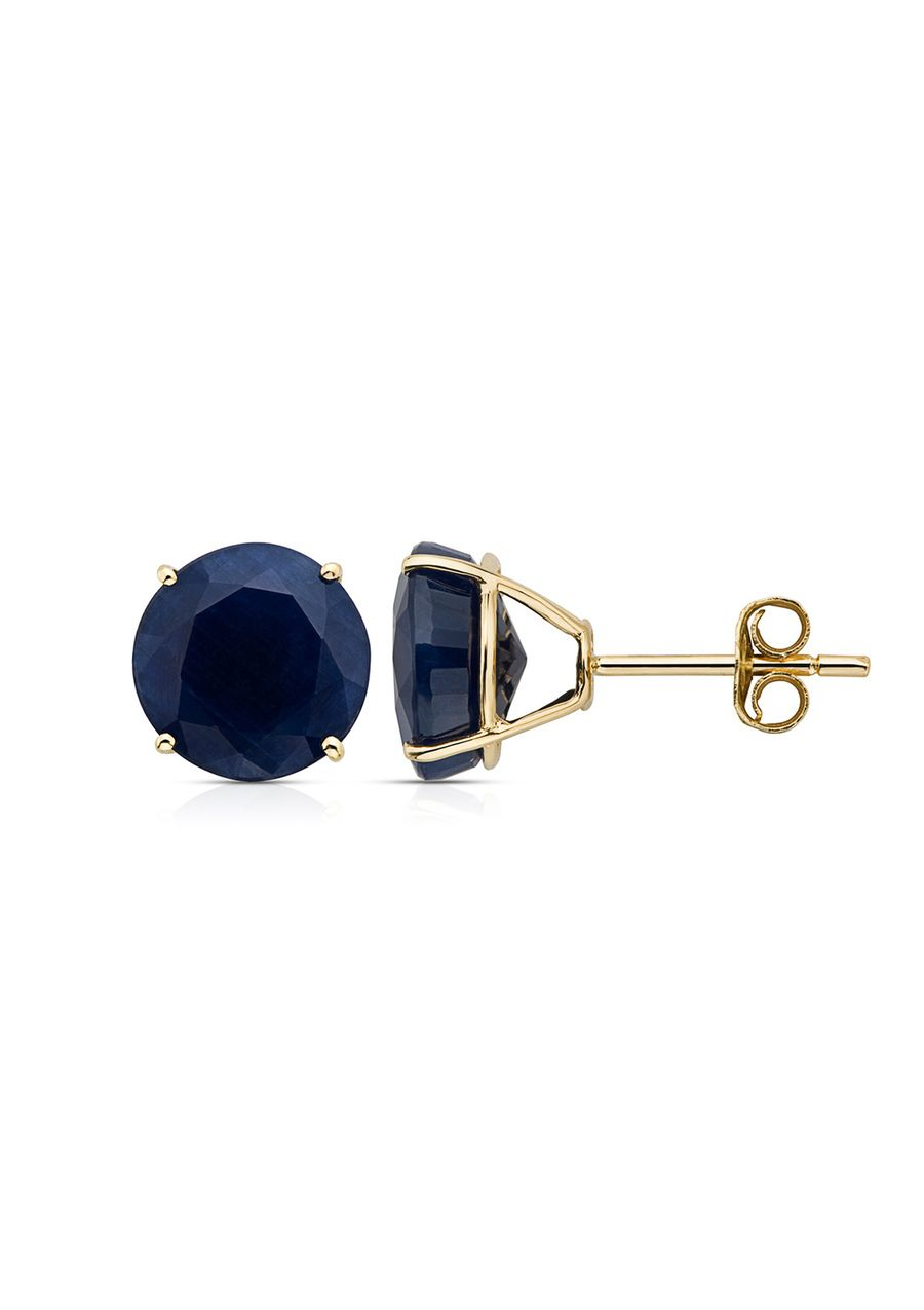 Sapphire Stud Earrings, These Are Gorgeous A Perfect Wedding Anniversary  Gift, Hint Hint