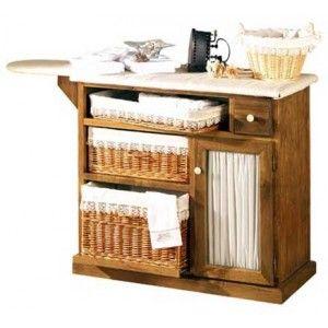 Mesa de planchar 104 cm decoraci n pinterest - Mueble para guardar tabla de planchar ...