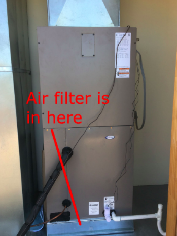 Awesome Home Air Conditioner Filter Located And Pics in