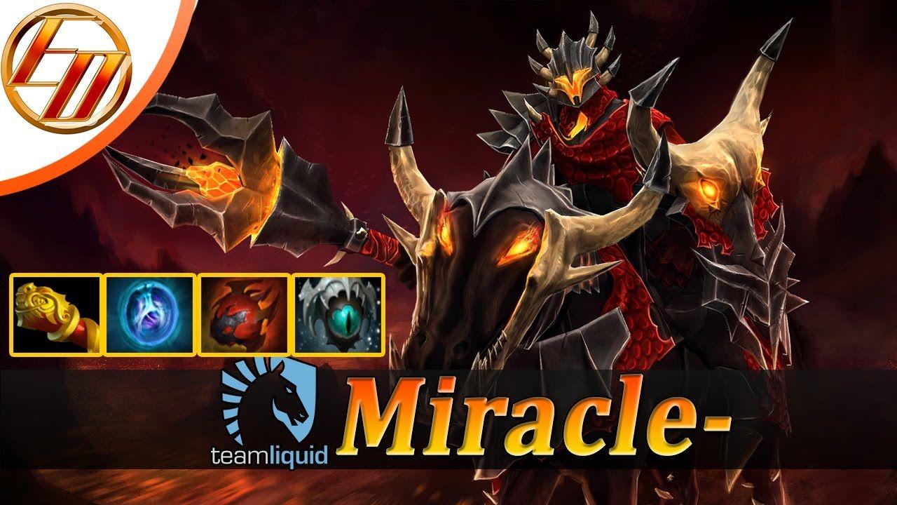 miracle chaos knight dota 2 pro gameplay ck fullgame pro