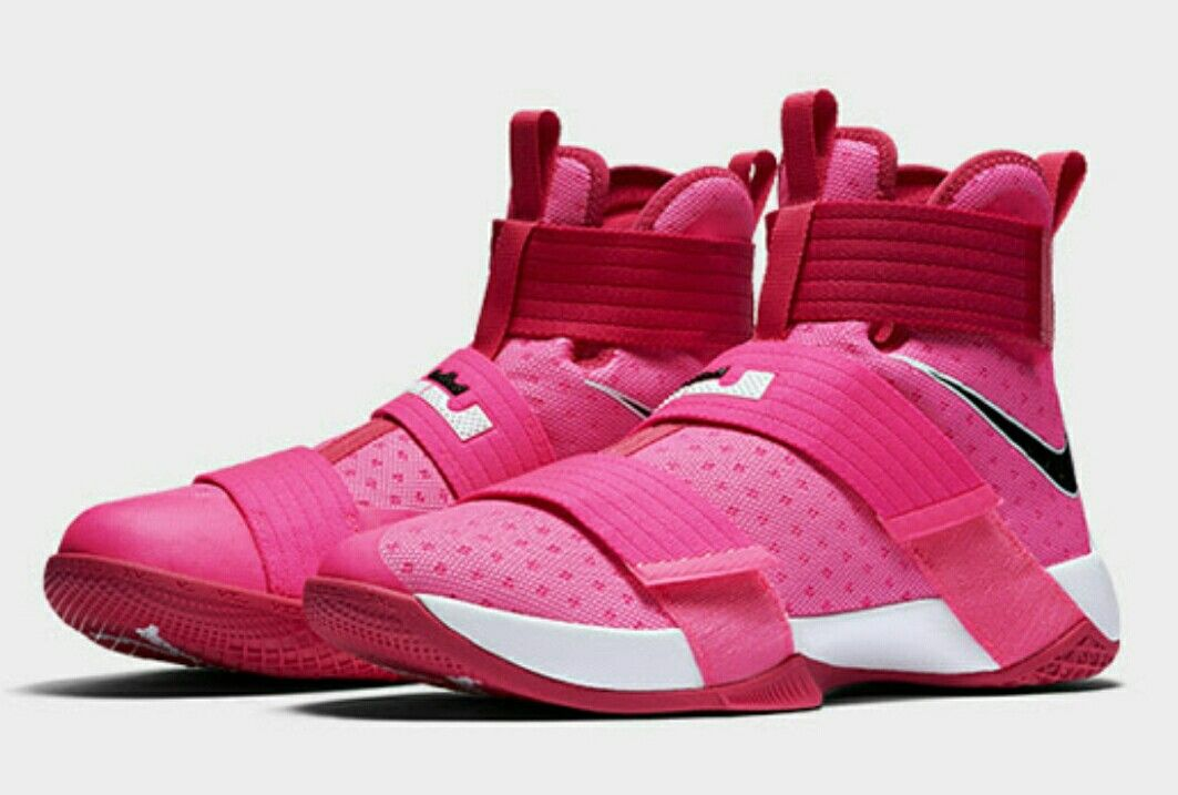 new styles b6072 cf0c9 These Are the 10 Coolest Sneakers of the Week. Nike LeBron Soldier 10 Kay  Yow Think Pink ...