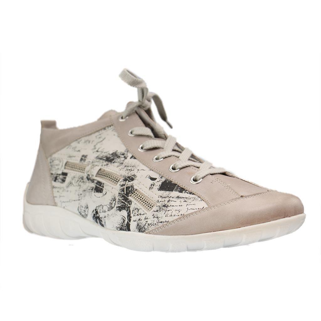 outlet store dfcf7 6790e REMONTE - R3483 - Damen Sneaker - Grau Schuhe in Übergrößen ...