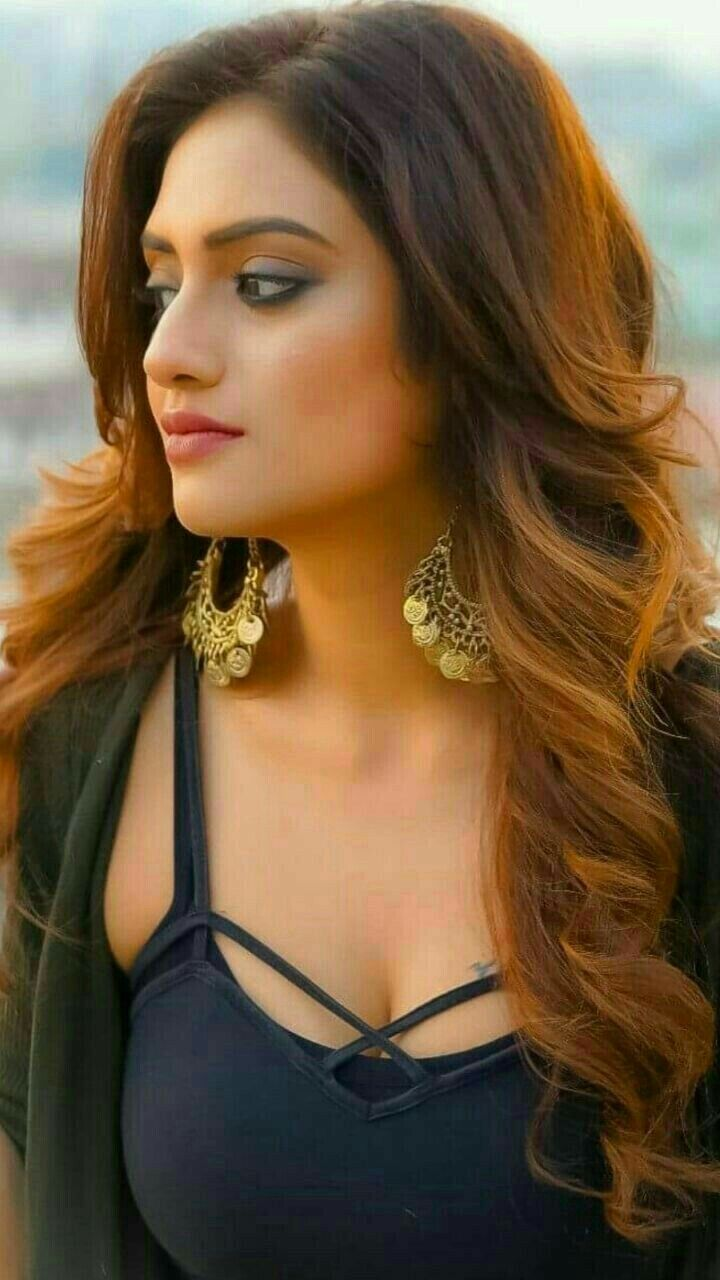 nusrat jahan black hot beautiful | girls | pinterest | india beauty