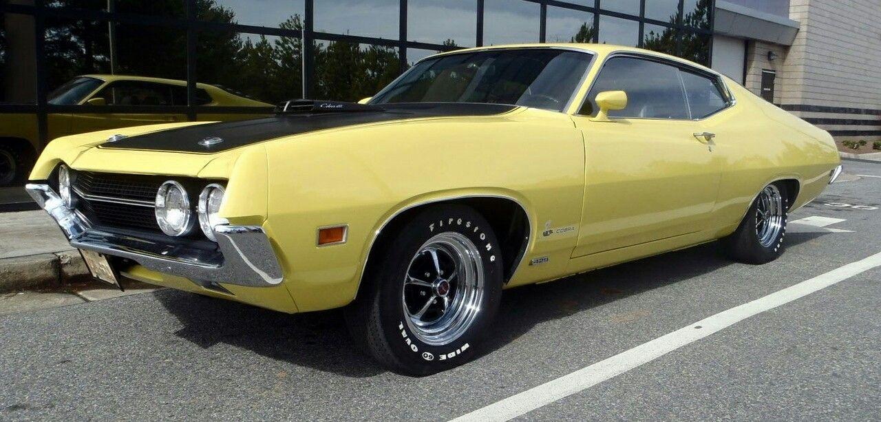 Yellow  Torino Cobra