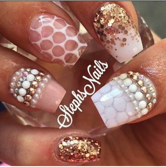 nails.quenalbertini: Nail Art by Stephs Nails