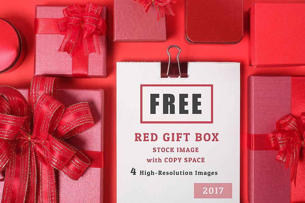 5 red gift box stock image red gift box design freebie