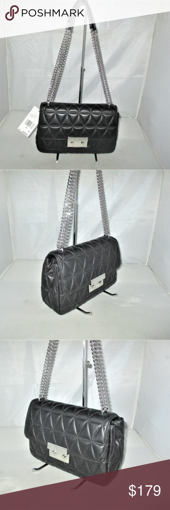 Michael Kors Sloan Chain Large Shoulder Bag Large