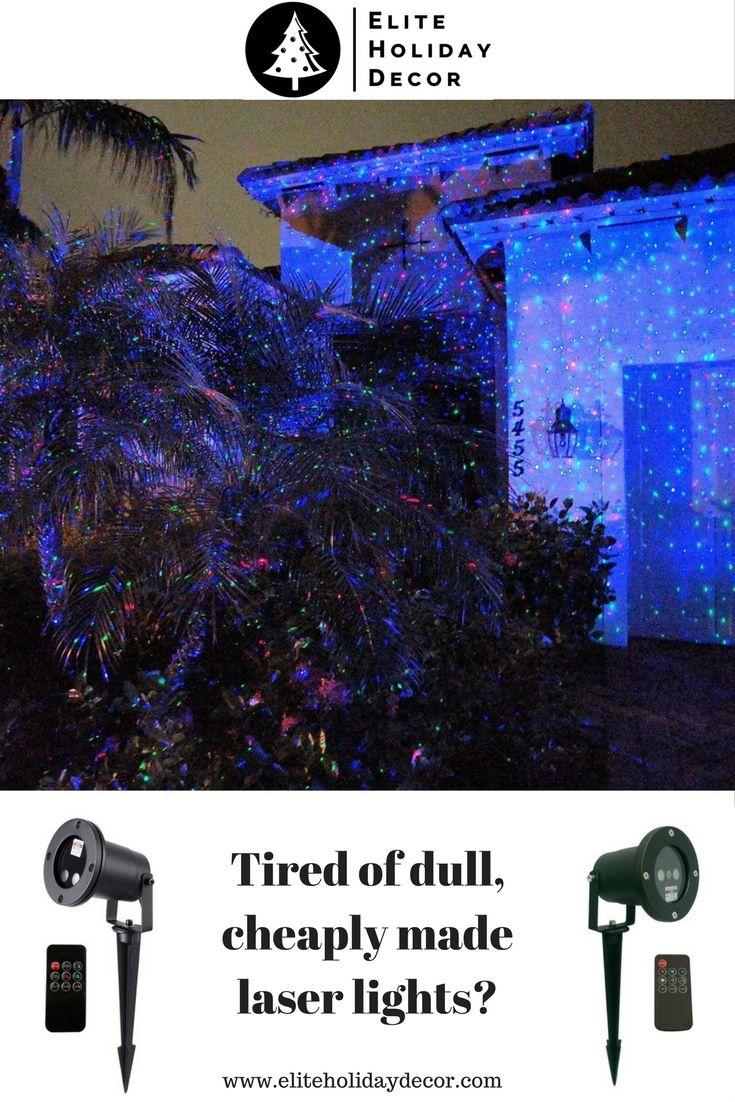 Commercial Grade Laser Christmas Light (Red / Green / Blue) - NEW ...